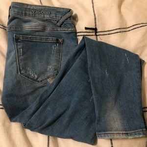 Vigoss Distressed Patched Jeans